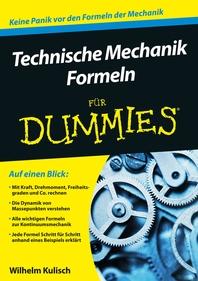 Technische Mechanik Formeln fr Dummies