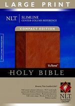 Slimline Center Column Reference Bible-NLT-Large Print Compact
