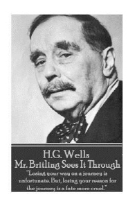H.G. Wells - Mr. Britling Sees It Through