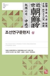 조선연구문헌지(상)