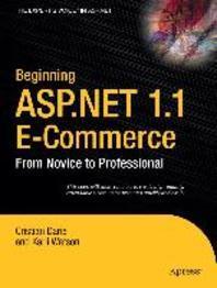 Beginning ASP.NET 1.1 E-Commerce