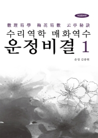 수리역학 매화역수 운정비결. 1