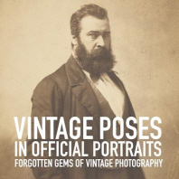 Vintage poses in official portraits