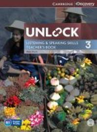 Unlock Level 3 Listening and Speaking Skills Teacher's Book with DVD