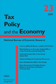 Tax Policy and the Economy, Volume 23, 23