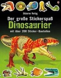 Der grosse Stickerspass: Dinosaurier