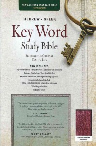 Hebrew-Greek Key Word Study Bible-NASB