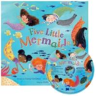 노부영 송 애니메이션 Five Little Mermaids (원서 & CD)