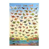 크르릉 공룡의 세계(벽그림)