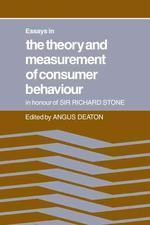 Essays in the Theory and Measurement of Consumer Behaviour