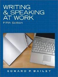 Writing & Speaking at Work