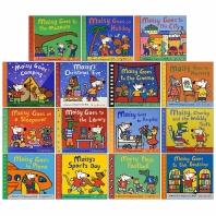 Maisy First Experience 15 Books Collection Set (메이지 생활 그림책 원서 15종 세트)