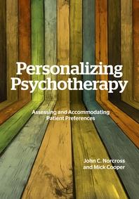Personalizing Psychotherapy