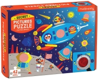 Mudpuppy Outer Space Secret Picture Puzzle