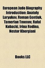 European Judo Biography Introduction
