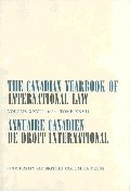 The Canadian Yearbook of International Law, Vol. 27, 1989