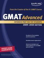 Kaplan GMAT Advanced 2009-2010