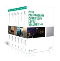 CFA Program Curriculum 2018 Level I, Volumes 1 - 6 Box Set