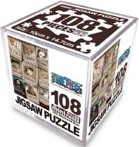 원피스 미니 직소퍼즐 108pcs: 뉴현상수배 버티컬