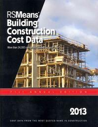2013 Rsmeans Building Construction Cost Data
