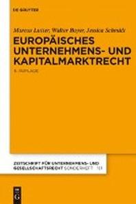 Europisches Unternehmens- Und Kapitalmarktrecht