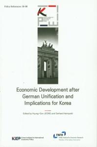 Economic Development after German Unification and lmplications for Korea