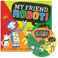 노부영 송 애니메이션 My Friend Robot! (원서 & CD)