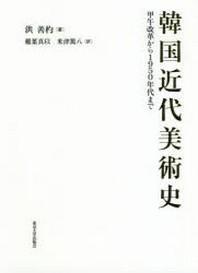 韓國近代美術史 甲午改革から1950年代まで