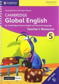 Cambridge Global English Stage 5 Teacher's Resource with Cambridge Elevate