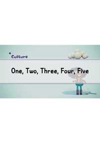 One, Two, Three, Four, Five