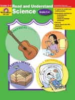 Read and Understand Science : Grades 3-4