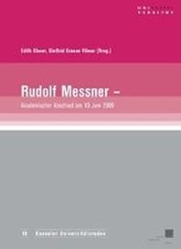 Rudolf Messner - akademischer Abschied am 10. Juni 2009