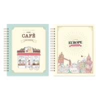 마이 로맨틱 유럽 스티커 컬러링북+마이 스위트 카페 스티커 컬러링북 세트