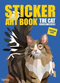 스티커 아트북: 고양이 엽서북
