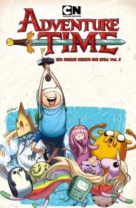 핀과 제이크의 어드벤처 타임 코믹스. 3