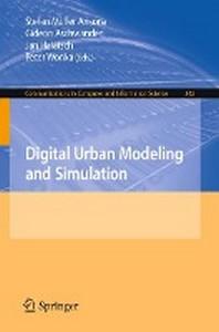 Digital Urban Modeling and Simulation