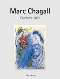 Marc Chagall 2021. Kunstkarten-Einsteckkalender