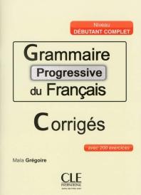 Grammaire progressive du francais corriges (신판)