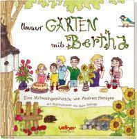 Unser Garten mit Bertha
