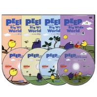 호기심 대장 삐악이 1집 4종세트 Peep and the Big Wide World(DVD)