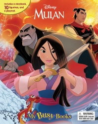 My Busy Book: Disney Mulan (미니피규어 10개 + 놀이판)