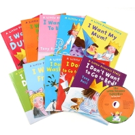 Little Princess Collection 10 Books (with Audio CD)