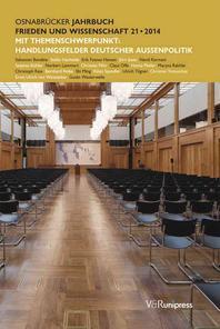 Osnabrucker Jahrbuch Frieden Und Wissenschaft XXI / 2014