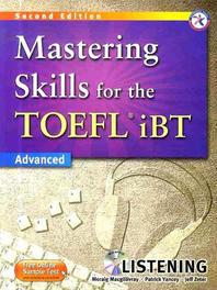 Mastering Skills for the TOEFL Ibt : Advanced Listening