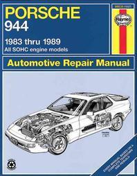 Porsche 944 1983 Thru 1989 All Sohc Engine Models