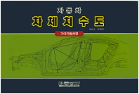 자동차 차체치수도(기아자동차편)(8절)