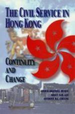 The Civil Service in Hong Kong