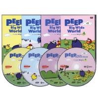 호기심 대장 삐악이 2집 4종세트 Peep and the Big Wide World(DVD)