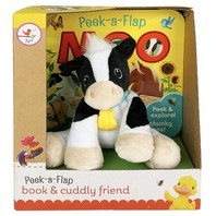 Moo Gift Set [With Plush Toy Cow]