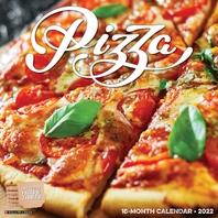 Pizza 2022 Wall Calendar